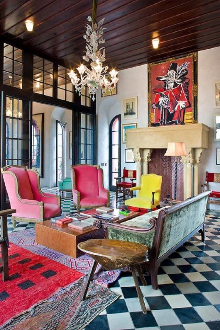Funky Living Room Ideas. DESIGN  THE SCHNABEL S VENICE ON HUDSON 629 best Living Rooms Color images on Pinterest room