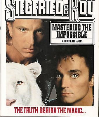 SIEGFRIED & ROY MAGICIANS MASTERING THE IMPOSSIBLE MAGIC BOOK LAS VEGAS Collectibles:Fantasy, Mythical & Magic:Magic:Books, Lecture Notes www.webrummage.com $29.99