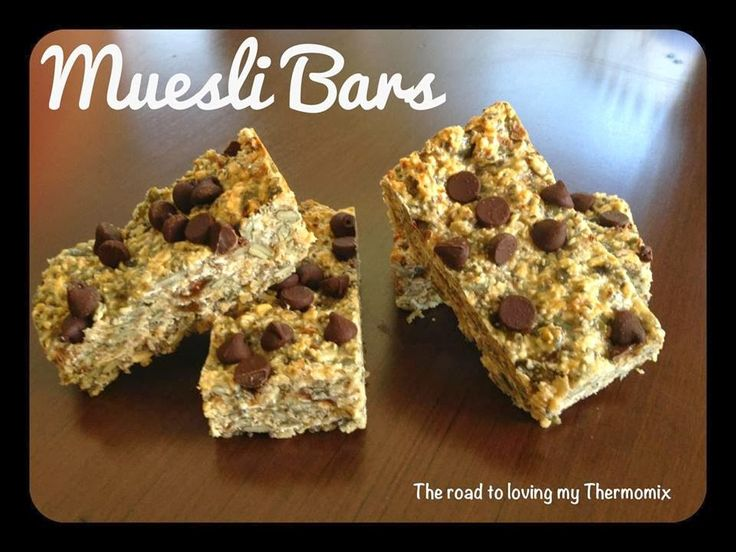The road to loving my Thermomix: Muesli Bars: Recipe Community