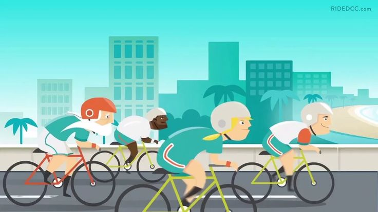 Studio Pigeon explainer: Dolphins Cycling Challenge on Vimeo