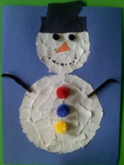 paper plate snowman,winter crafts for preschoolers,mitten crafts,how to make a snowflake -                 Crafts For Preschoolers