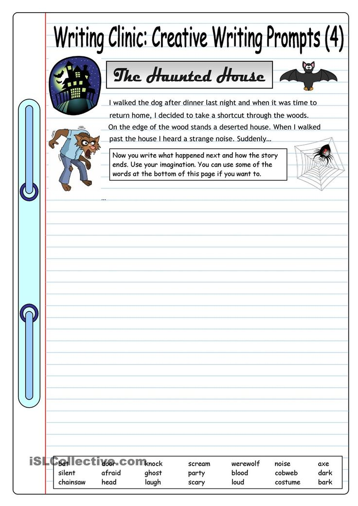 Creative Writing Worksheets Grade 6 - Engaging 2nd Grade Writing Prompts  That Promote Creative Writing
