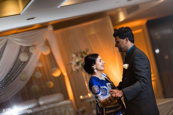 Indian wedding reception first dance capture http://www.maharaniweddings.com/gallery/photo/127632