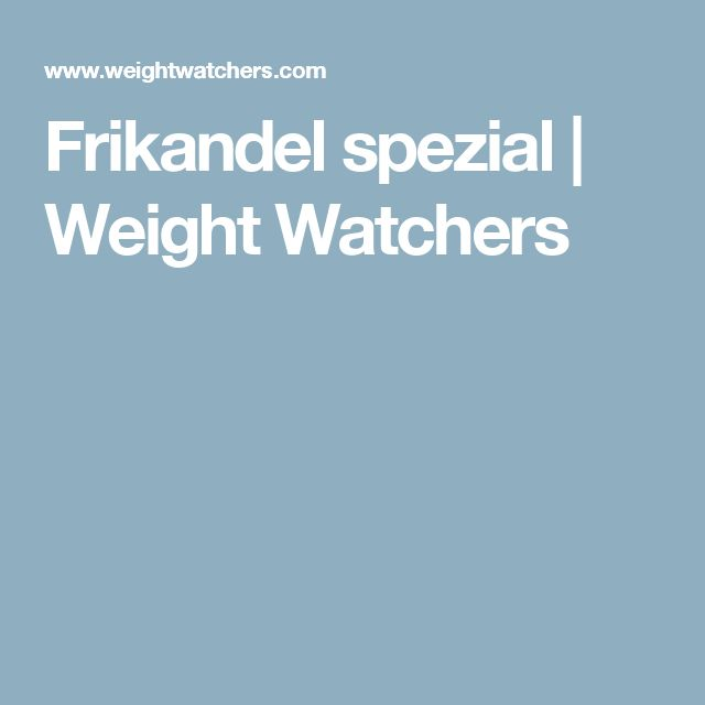 Frikandel spezial   Weight Watchers