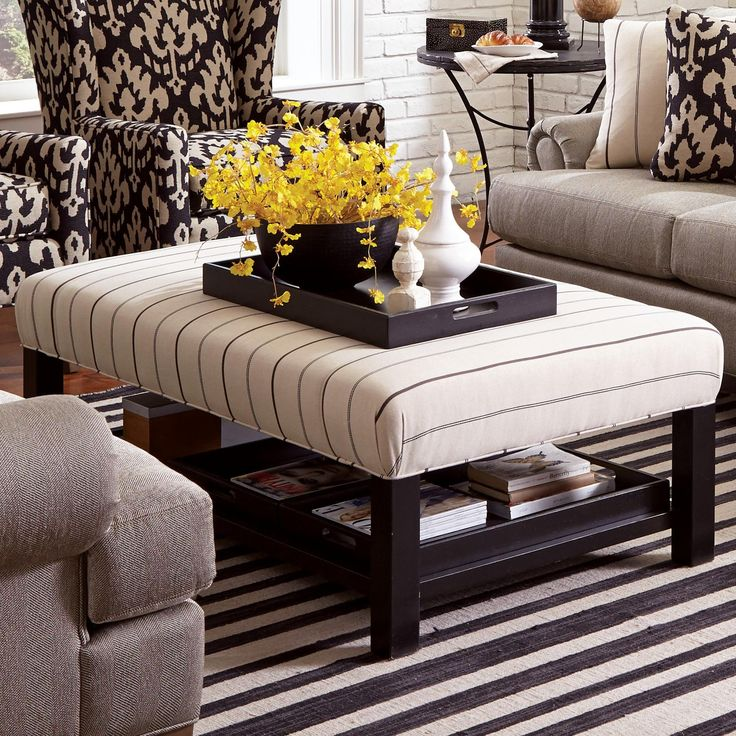 Craftmaster Ottoman (Storage Bench Ottoman) WITH 3 Storage Trays Available  At Turk Furniture Www.turkfurniture.com | Living Room Love | Pinterest |  Ottoman ...