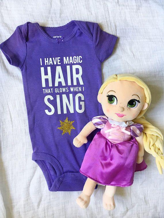 Rapunzel Tangled Inspired Disney Bodysuit Onesie DIy Kit