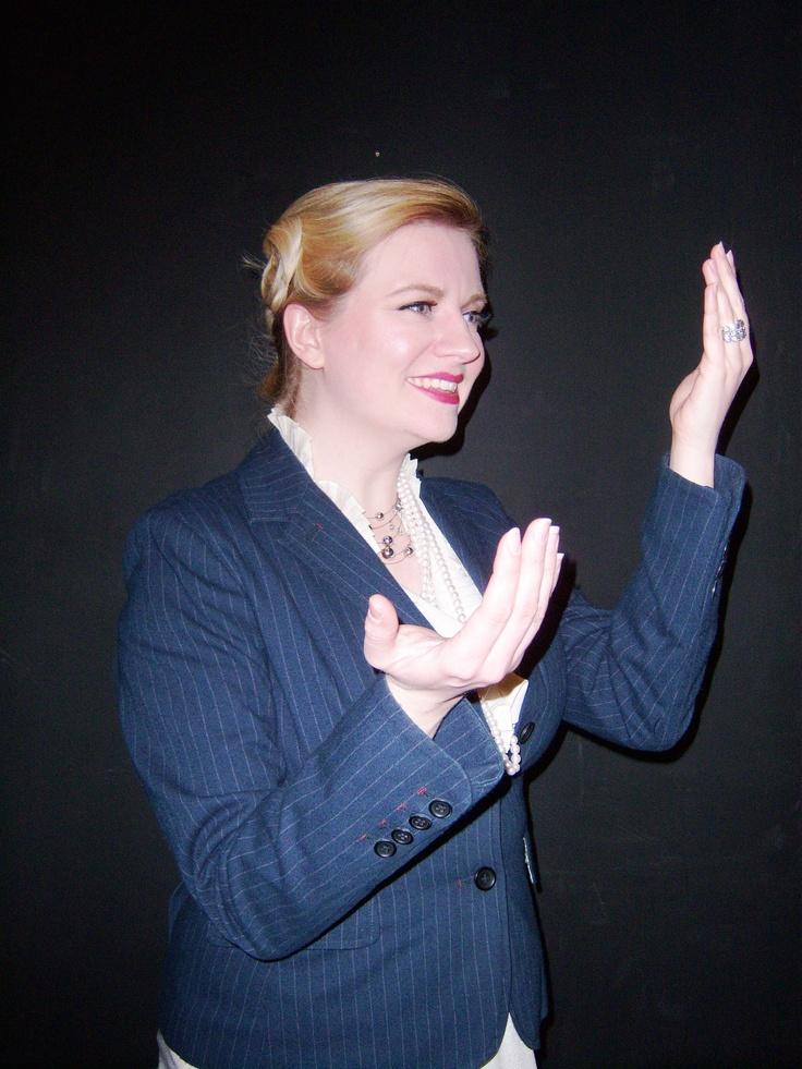 Eryn Hamer as Evita #Evita #MarquisTheatre #NyNewYork #AskaTicket