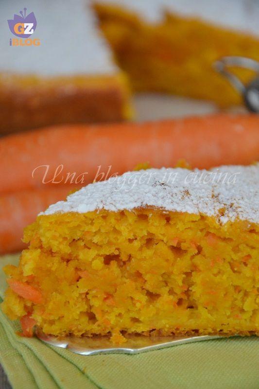 torta carote e mele (senza burro)