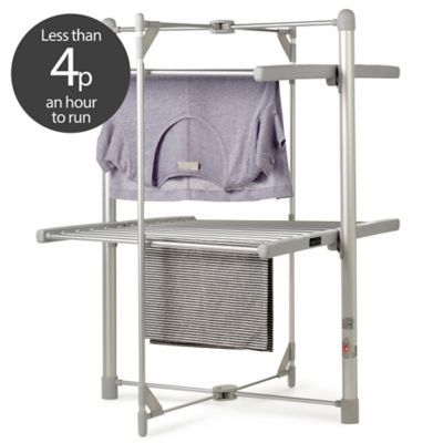 Dry:Soon Electric 2 Tier Heated Clothes Airer - Airers at Lakeland