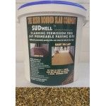 SUDwell™ DIY Resin Bound Kit in Golden Pea for DIY and trade installations of resin bound surfacing. Resin Driveways, Resin Bound Drives, Resin Bound Patios and pathways. DIY Driveway Installation.