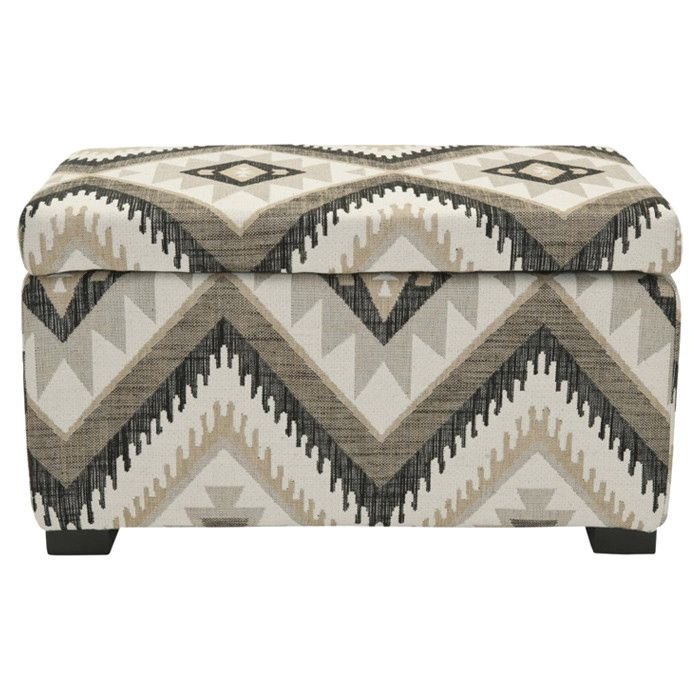 perfect for storing blankets magazines and more this spacious storage bench features three neutral colors which makes it blend well into a variety of