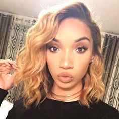 Image result for ombre sew in bob