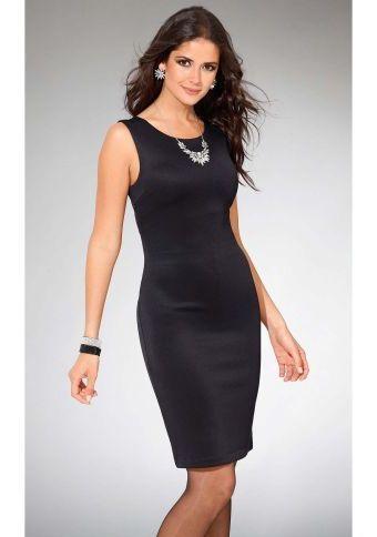 Elegantné šaty bez rukávov #modino_sk #modino_style #littleblackdress #style #fashion #elegance #móda