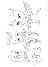 Imagenes De Pj Masks Para Imprimir的圖片搜尋結果 персонажи