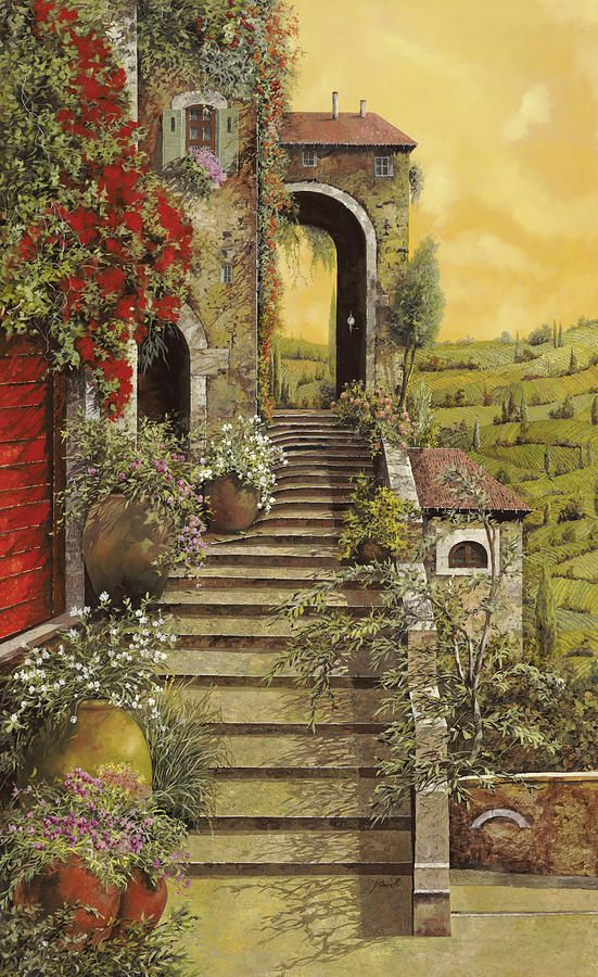 La Scala Grande by Guido Borelli - La Scala Grande Painting - La Scala Grande Fine Art Prints and Posters for Sale