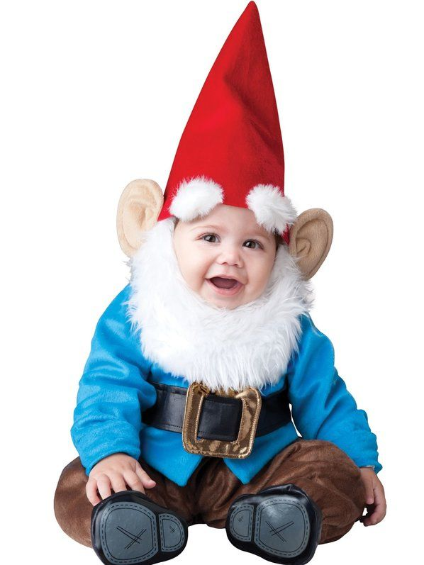 Check out Baby Blue Garden Gnome Costume – Infant & Toddler Funny Costumes from …