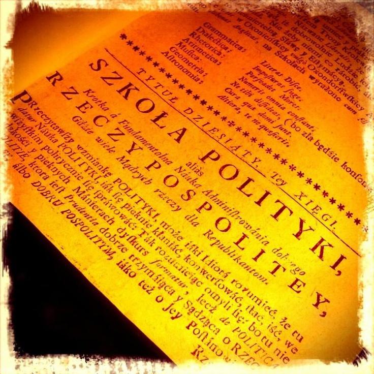 Benedykt Chmielowski NOWE ATENY Lwów 1754 Fragment #aukcja #allegro #skarb #oldbooks