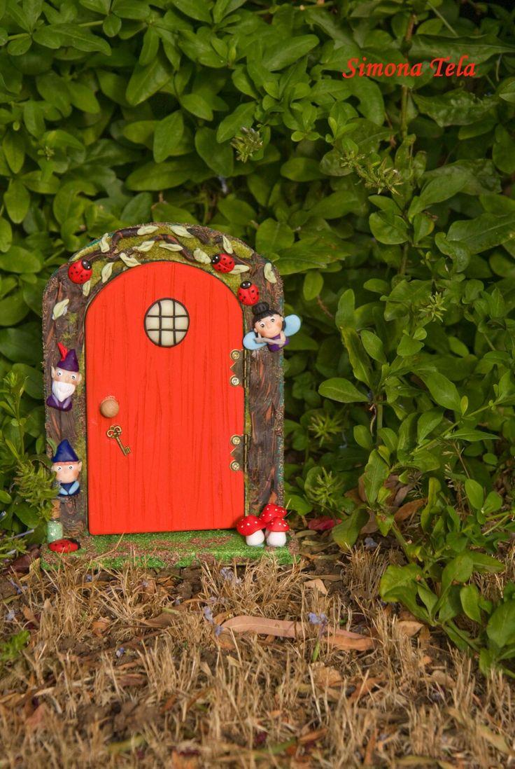 #fairydoor #portadellefate #wood #handmade #beneholly