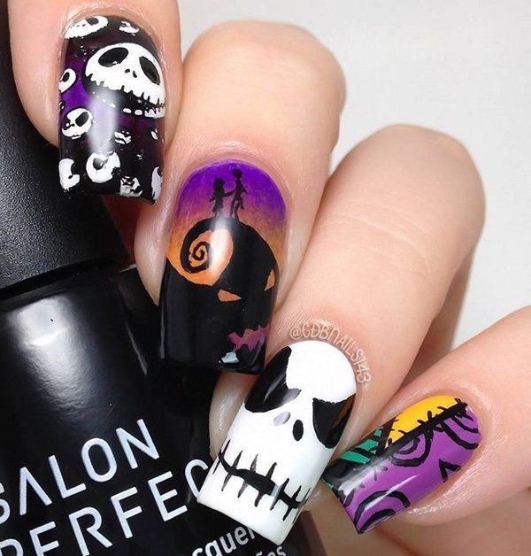 Best 25+ Disney halloween nails ideas on Pinterest ...