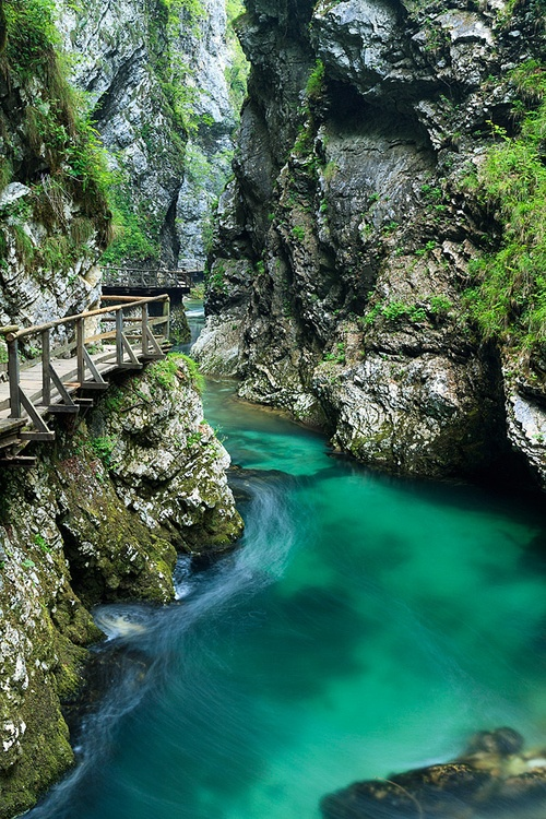 Bled Gorge, Slovenia
