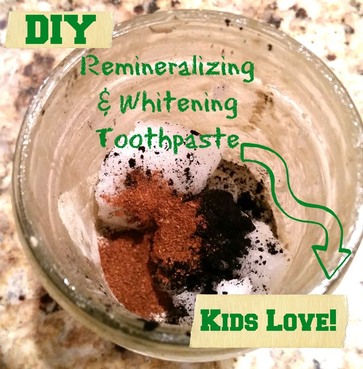 DIY Remineralizing & Whitening Fluoride-Free Toothpaste Kids LOVE! - Salam Mama