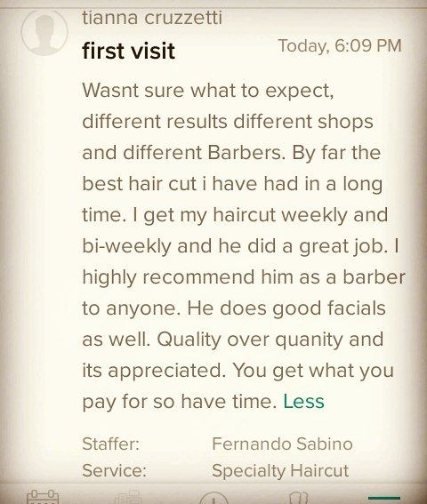 This is what boosts up my ego, nothing else.... Quality over quantity New review on Booksy  #FreshCutz #SDSU #SanDiegoBarber #SDFinestBarbers #HairEvolution #barbersinctv #Barber #Barbershop #BarberGame #BarberGang #BarberLife #BarberLifestyle #BarberHustle  #ElCajon #BeardGang #MensHairstyle #MensFashion #sdfinestbarbers #cosmetology #BarberMovement #BarberWorld #SanDiegoArt #LaMesa #EliteBarberCartel #LaJolla #BarberSurgeon #DowntownSanDiego #CityHeights #HooverCardinals #Andis…