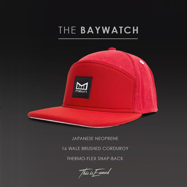 Get the Baywatch luxury hat from Melin only at www.TheCapGuys.com! The all new Baywatch, because at the beach, life is different. Time doesn't move hour to hour but mood to moment. We live by the currents, plan by the tides and follow the sets. #melin #thecapguys #tcg #snapback #hat #cap #red #fashion #swag #me #style # #tagsforlikes #me #swagger #shirt #dope #fresh #swagger