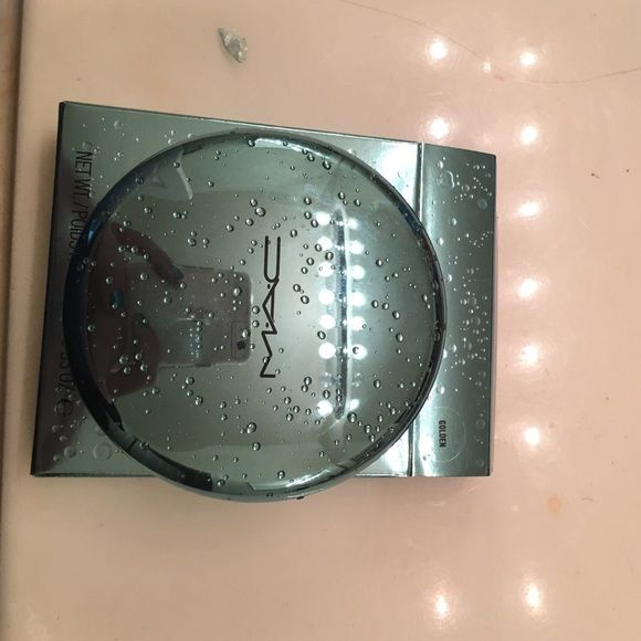 Mac bronzer limited edition Used a couple times ,color golden MAC Cosmetics Makeup Bronzer