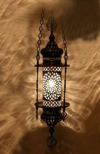 Tekli Klasik Osmanlı Sarkıt 70cm #ottoman #osmanli #lighting #aydinlatma