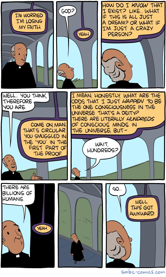 Saturday Morning Breakfast Cereal - Losing My Faith