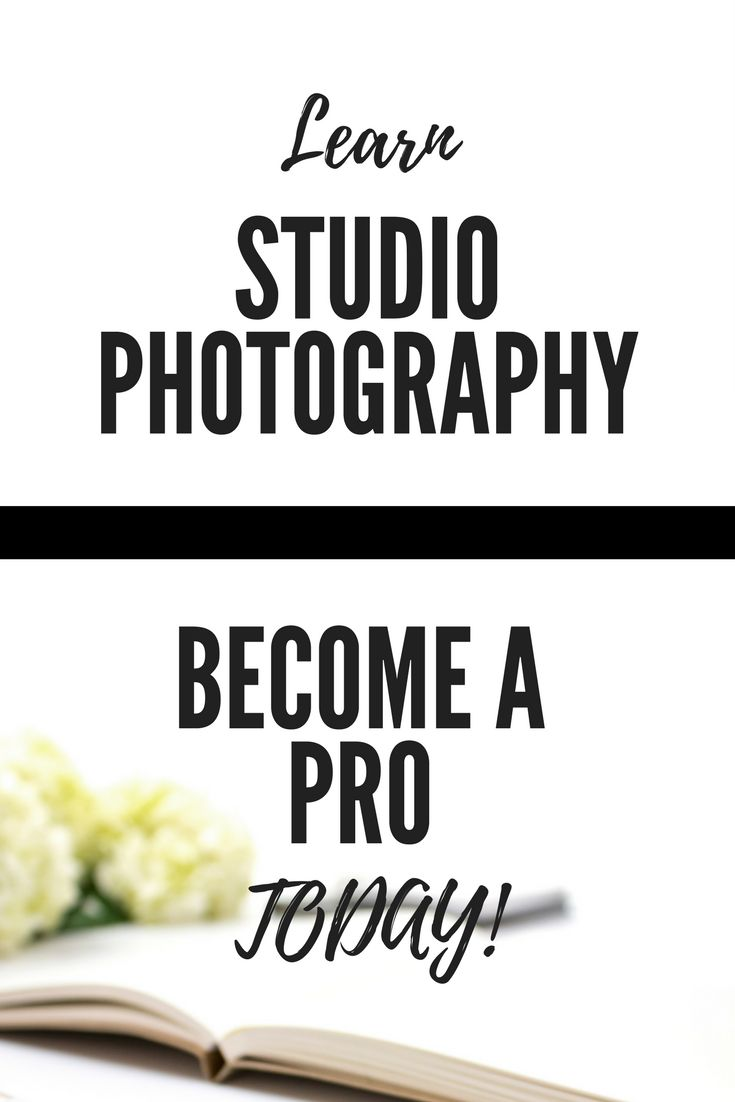 Learn the art of studio photography today with this ebook! #aff
