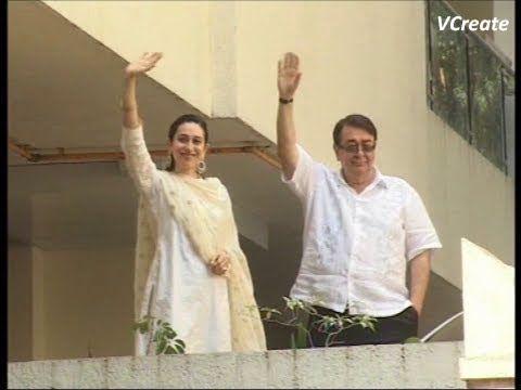 Karishma Kapoor and Randhir Kapoor thank fans after Saif Kareena's  marriage.