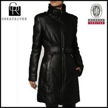 2015 fashion overcoat ladies long leather coats  Best Buy follow this link http://shopingayo.space
