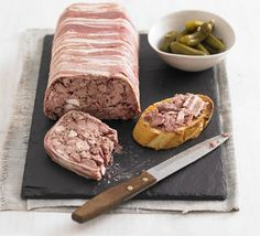 John Torode shows how to prepare classic coarse set terrine with duck and mixed game of your choice