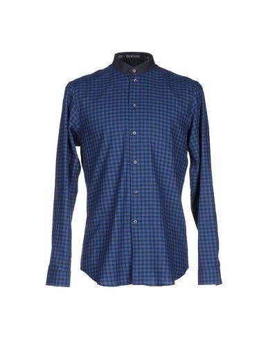 Prezzi e Sconti: #Vangher n.7 camicia uomo Blu  ad Euro 58.00 in #Vangher n 7 #Uomo camicie camicie