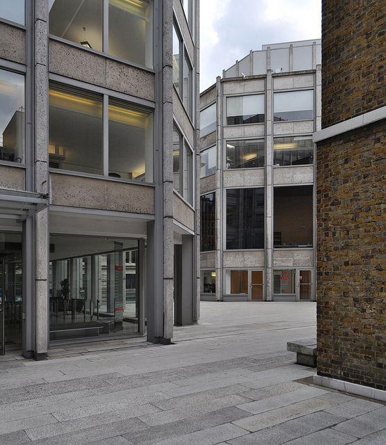 Economist building by Alison & Peter Smithson