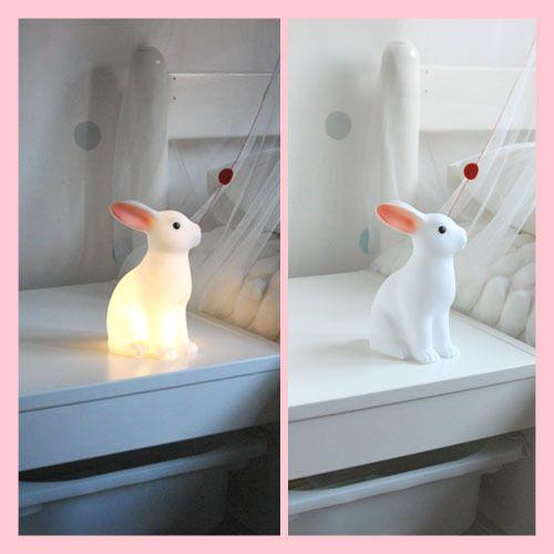 Lampada LED a coniglietto e maialino (per la cameretta!) - Bella Mamma - vendita on line prodotti per bambini, giochi, accessori, negozio compra online
