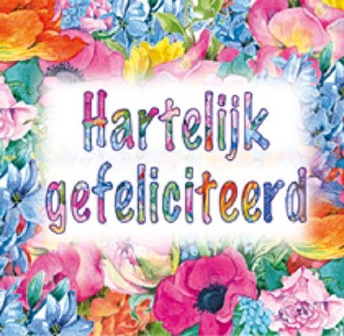van harte gefeliciteerd bloemen - Google zoeken
