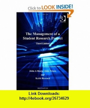 7 best ebooks download images on pinterest pdf tutorials and the management of a student research project 9780566084904 john a sharp john fandeluxe Gallery