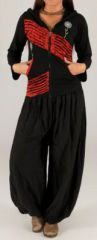 Sweat femme à capuche ethnique original et pas cher Loic disponible sur www.akoustik-online.com.