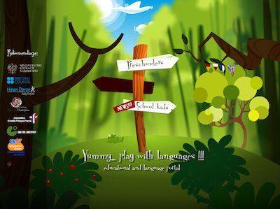 Gra edukacyjna na 4 języki