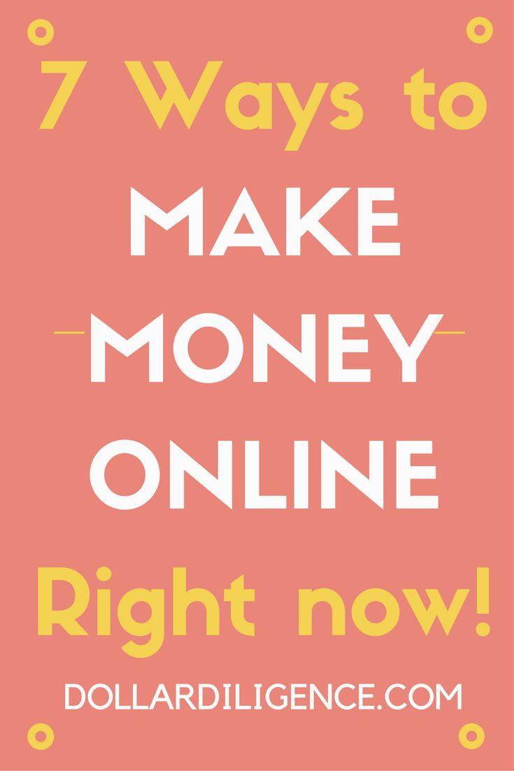 7 Legit Ways to Make Money Online Right Now