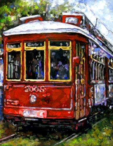 I rode the St.Charles trolley everyday when I was in NOLA, beautiful homes to see and the Camilla Grill, yummy choc shake!!!