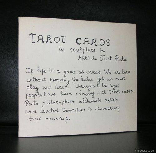 Niki de Saint Phalle # TAROT CARDS # 1985, nm