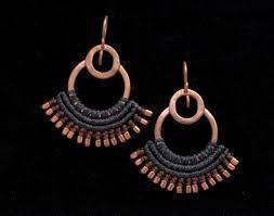 Resultado de imagen para joyas mapuches de plata y macrame