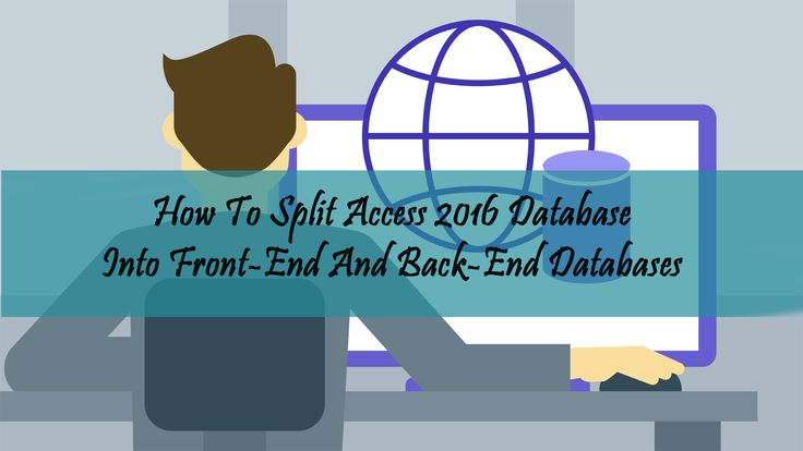 Is your Access Database 2016 performance gets degraded when multiple users share the database over a network? Wants to know? Then keep reading this post as this will help you in resolving this Access database issues with the most appropriate solution. SOURCE: http://www.accessrepairnrecovery.com/blog/split-access-database-front-end-back-end-databases