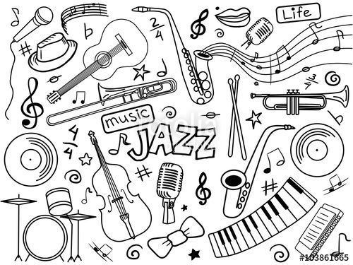 313 Best Images About Music Coloring Pages For Adults On