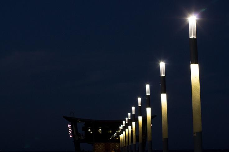 WOW! .. Love this pic of moyo uShaka Pier at night