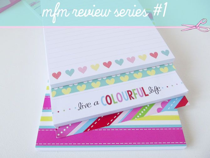 Olive Finch notepads... put to the test by stationery guru Nadia van der Mescht