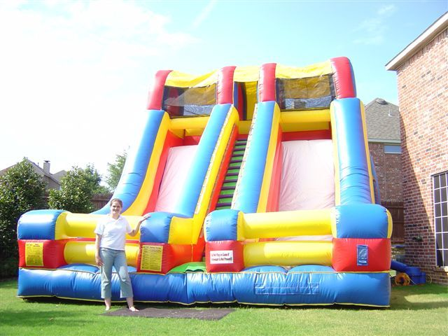 Party Slides for Rent | ... party! It is ready for your children's Party, or event. Rent one for